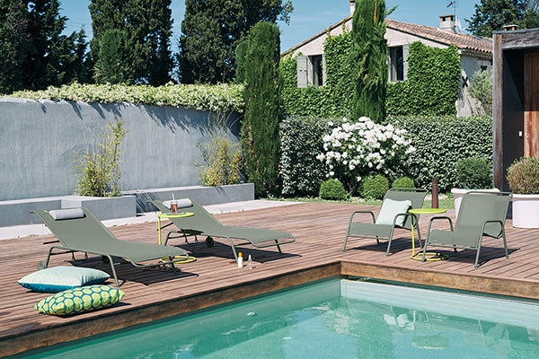 Ambiance Fauteuil de jardin bas empilable Coolside Fermob