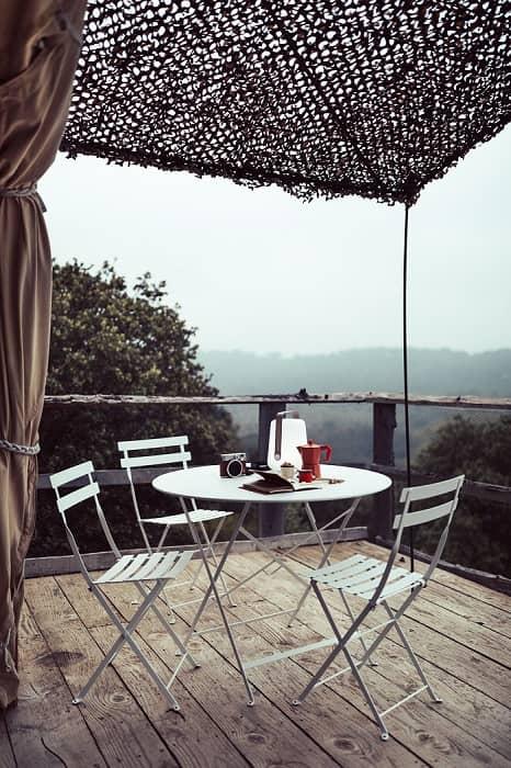 fermob bistro table 96cm ambiance