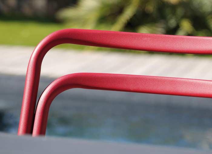 Chaise de jardin haute empilable PROLOISIRS Eos