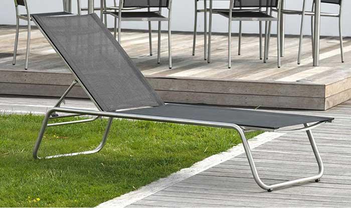 Chaise longue de jardin Milano Paris Garden