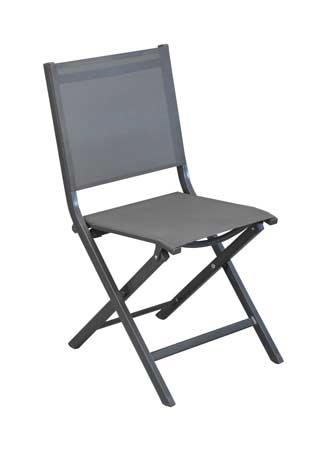 salon de jardin tahaa avec chaises grises théma alizé
