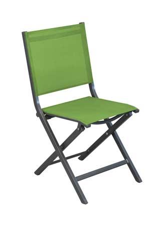 Salon de jardin Tahaa avec chaises théma vertes alizé