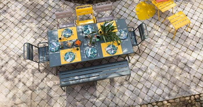 Table monceau 194x94cm ambiance
