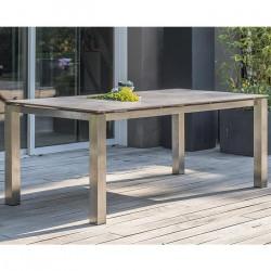 Table de jardin Paris Garden Torino 200 cm plateau HPL