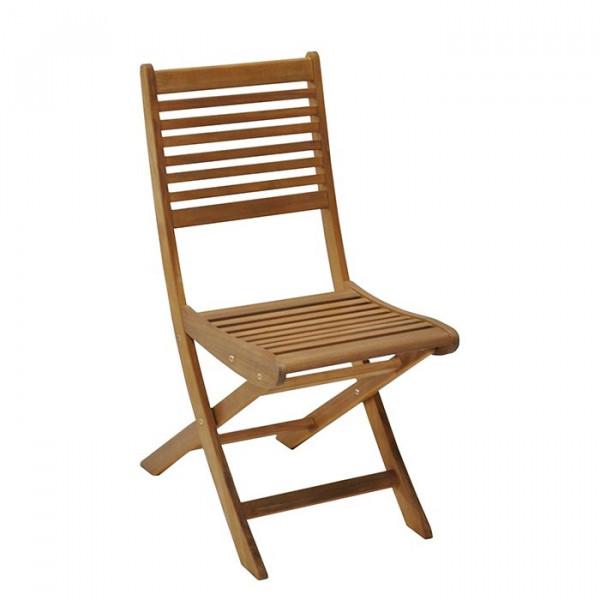 Chaise de jardin en bois pliante ALIZE Saturne