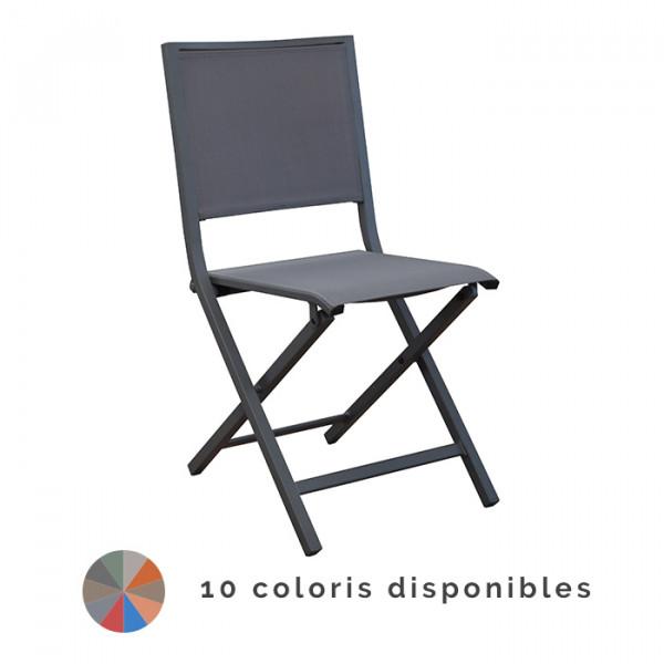 Chaise de jardin pliante PROLOISIRS IDA