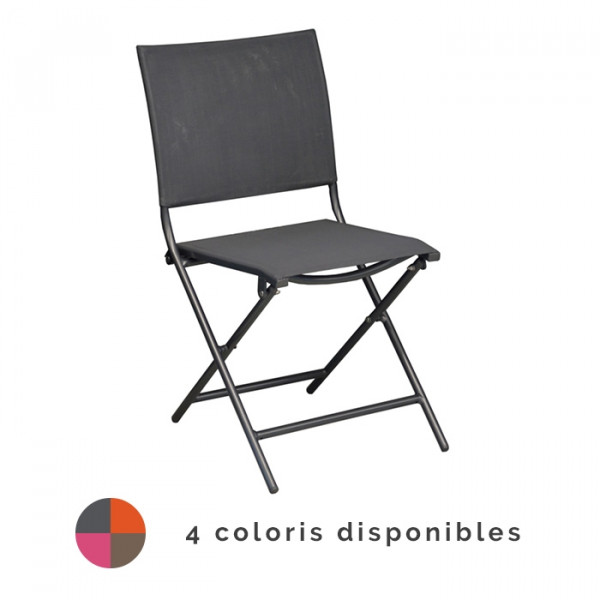 Chaise de jardin pliante ProLoisirs GLOBE