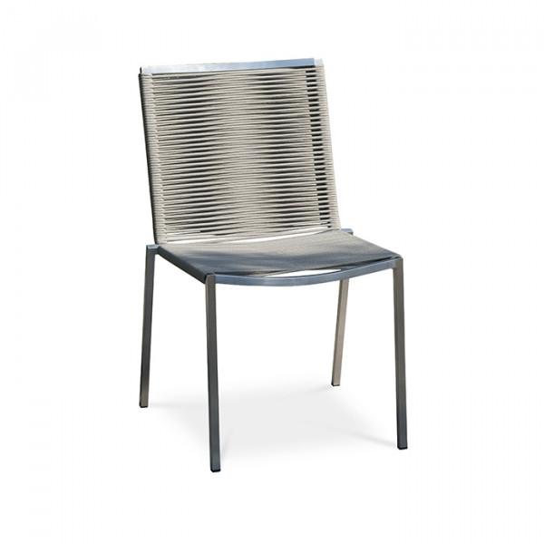 Lot de 6 chaises empilables LIVORNO