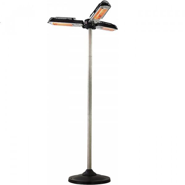 Parasol chauffant électrique FAVEX Bari 3 Têtes