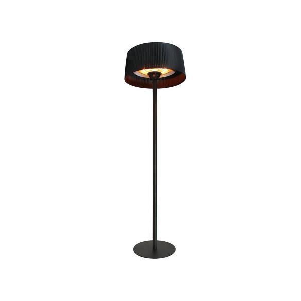 Parasol chauffant electrique FAVEX Sirmione noir