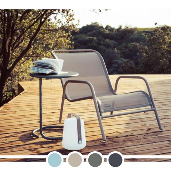 Table basse de jardin déportée FERMOB Coolside