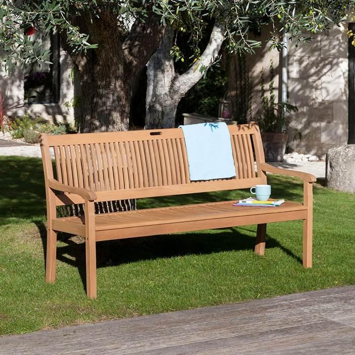 Banc de jardin en bois ALIZE Amadéo | Raviday Jardin