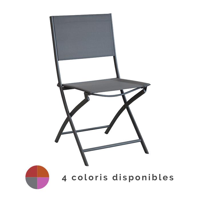 Chaise de jardin pliante ALIZÉ Dream