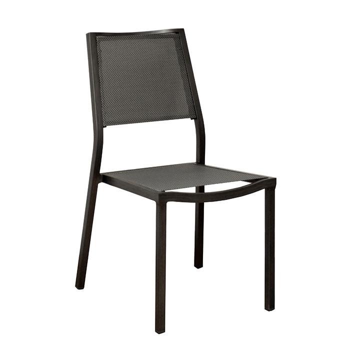 Chaise de jardin en aluminium ALIZE Florence (finition brush ...