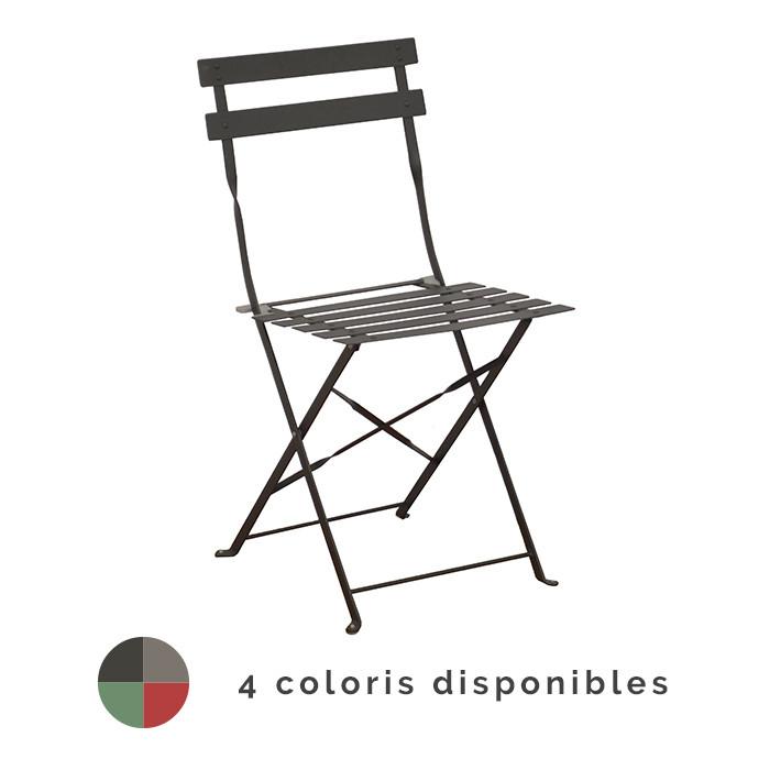 Chaise de jardin pliante Alizé Cuba