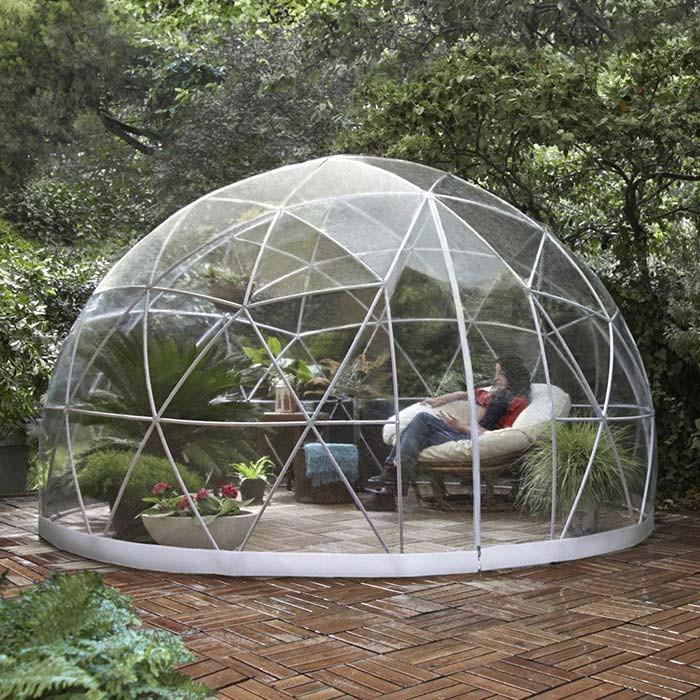 Garden Igloo Abri Bulle De Jardin Et Dome Pour Spa