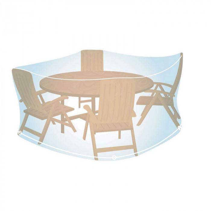 Housse ronde pour mobilier de jardin