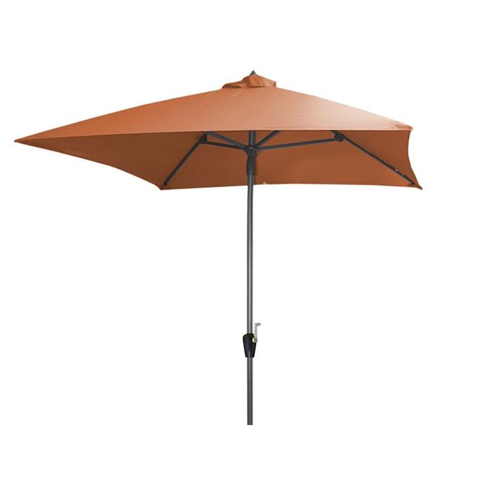Parasol droit 2.5 x 2.5 m en aluminium ALIZE Manivelle   Raviday Jardin ba398e7d5d92