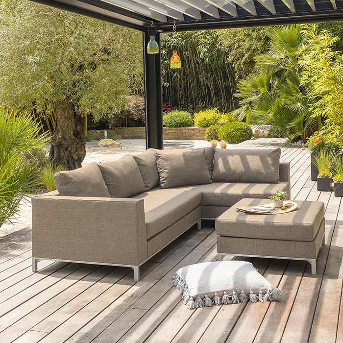 Salon de jardin bas Paris Garden Casablanca, 6 personnes | Raviday ...