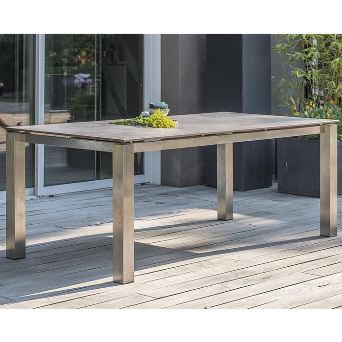Table de jardin Paris Garden Torino 200 x 100 cm