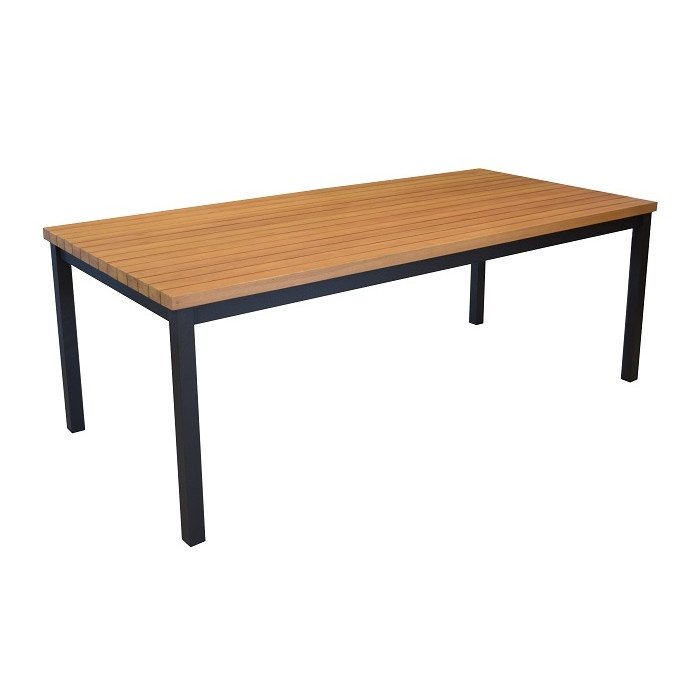 table de jardin en bois proloisirs vegas 210. Black Bedroom Furniture Sets. Home Design Ideas