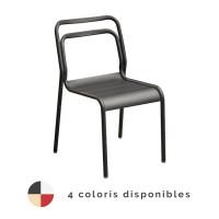 Chaise de jardin empilable PROLOISIRS Eos