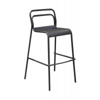 Chaise haute de jardin PROLOISIRS Eos -Graphite