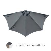Demi parasol droit 300/5 cm ALIZE