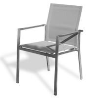 Lot de 6 fauteuils de jardin empilables Paris Garden Torino