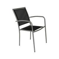 Lot de 6 fauteuils de jardin empilables Paris Garden Milano