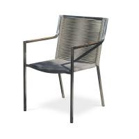 Lot de 6 fauteuils de jardin empilables Paris Garden Livorno