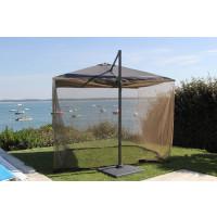 Moustiquaire pour parasols 3x3m PROLOISIRS