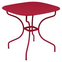 Table de jardin FERMOB Opéra + 82 x 82 cm