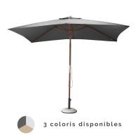 Parasol bois droit PROLOISIRS 3x2 mètres