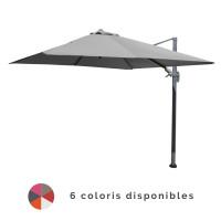 Parasol déporté 3x3 NH en aluminium PROLOISIRS