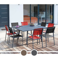 Table de jardin PROLOISIRS Barcelona 100/145 x 145 cm