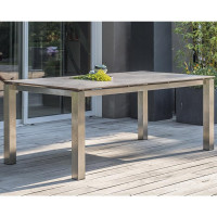 Table de jardin Paris Garden Torino 200 cm plateau HPL