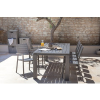 Salon de jardin Table Latino 180 ICE + 6 chaises