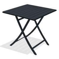 Table pliante aluminium MARIUS 70 x 70cm