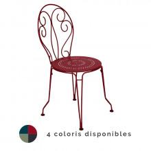 Chaise de jardin empilable FERMOB Montmartre