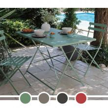 Table de jardin Alizé guéridon Cuba 110