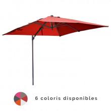 Parasol déporté 3x3 Orientable NH en aluminium PROLOISIRS