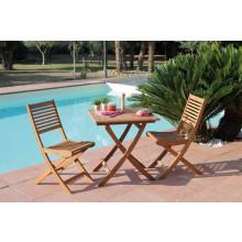 Salon de jardin Sophie 70x70 + 2 chaises Saturne