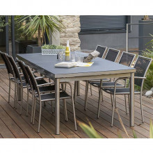 Table de jardin Paris Garden Palermo 240/300 cm
