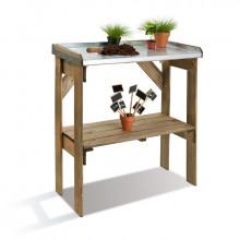 Table de préparation pour jardinage JARDIPOLYS Pratik