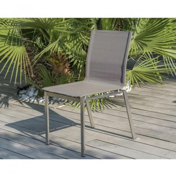 Lot de 6 chaises empilables Paris Garden Torino