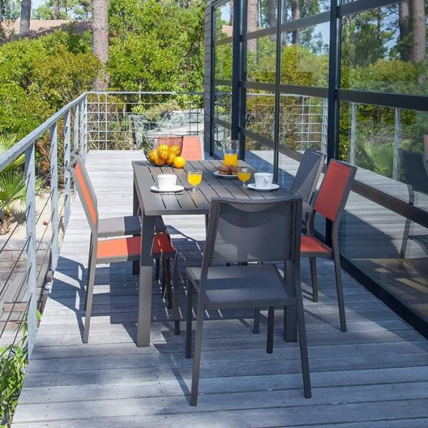 Chaise de jardin en aluminium ALIZE Florence