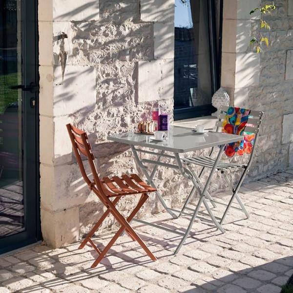 Chaise de jardin pliante ALIZÉ Nonza