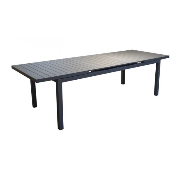 Table de jardin avec rallonge PROLOISIRS Valencia 160/206