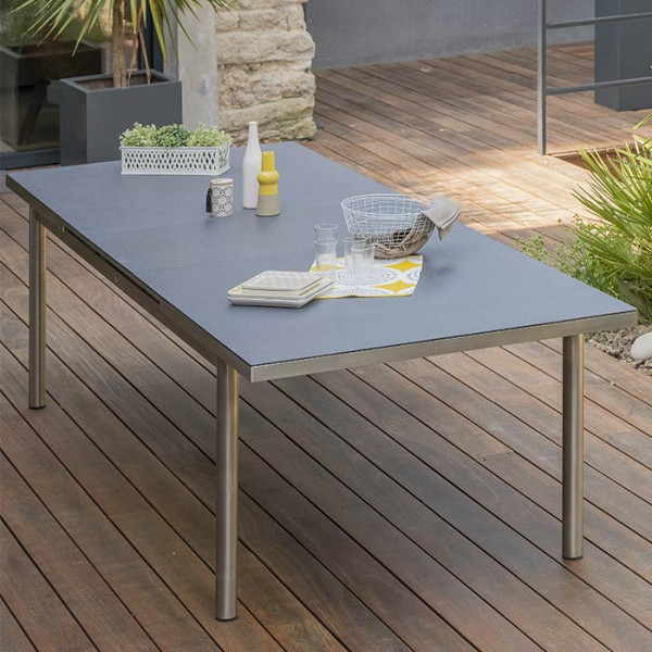 Table de jardin Paris Garden Palermo 240/300 cm